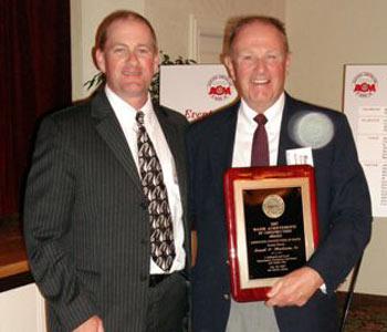 Ronnie MacQuinn MAC award 2007