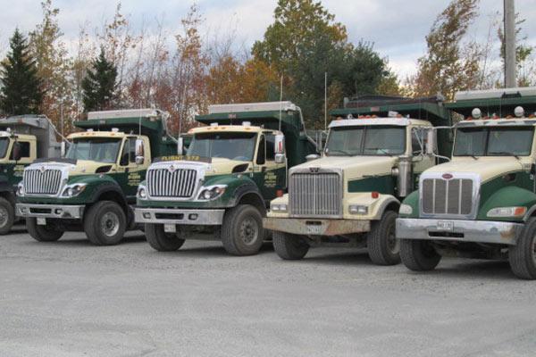 Harold MacQuinn dump trucks