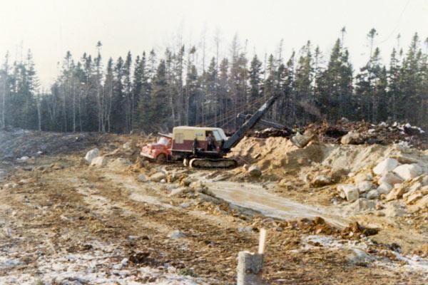 Harold MacQuinn excavation